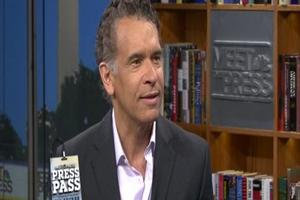 STAGE TUBE: Brian Stokes Mitchell Visits 'Meet The Press'!