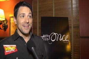BWW TV: Broadway's ONCE Meets the Press!