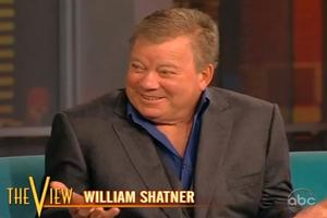 STAGE TUBE: William Shatner Talks Broadway on THE VIEW!