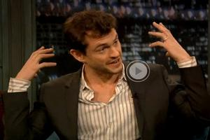 STAGE TUBE: Hugh Dancy Talks VENUS IN FUR on LATE NIGHT