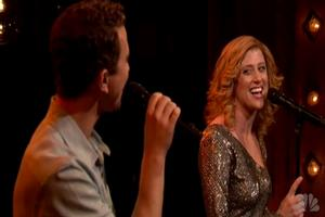 STAGE TUBE: GHOST's Fleeshman & Levy Sing on JIMMY FALLON