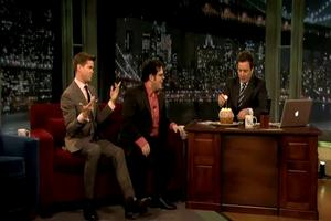 STAGE TUBE: William Shatner and MORMON's Josh Gad & Andrew Rannells Bring the Laughs to Jimmy Fallon's Broadway Week!