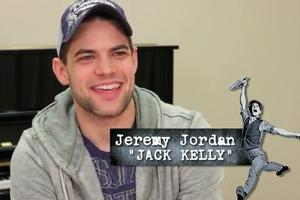 STAGE TUBE: Meet the NEWSIES- Jeremy Jordan (Jack)