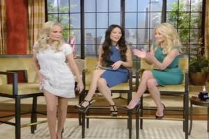 STAGE TUBE: Kristin Chenoweth Does 'The Jolie' on This Morning's LIVE WITH KELLY