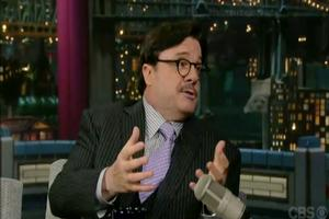 STAGE TUBE: Nathan Lane on David Letterman