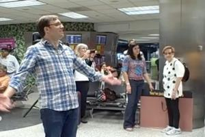 STAGE TUBE: Florida Grand Opera's Flash Mob at Miami Airport