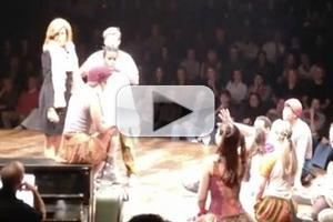 STAGE TUBE: Kathie Lee and Hoda Visit GODSPELL!