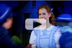 STAGE TUBE: New WIZARD OF OZ Footage Feat. Sophie Evans and Russell Grant
