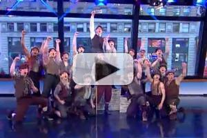STAGE TUBE: Cast of NEWSIES Performs on GOOD MORNING AMERICA!