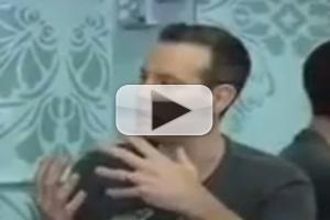 STAGE TUBE: MEMPHIS' Adam Pascal Appears on 'New York Live'