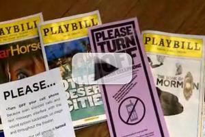 STAGE TUBE: Brian Williams Takes on Audience Cell Phone Usage - Patti LuPone & More