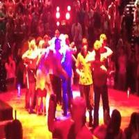 STAGE TUBE: Daniel Goldstein Gives Closing Night Speech at GODSPELL!