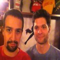 STAGE TUBE: Lin-Manuel Miranda and Tom Kitt Greet BRING IT ON Fans!