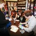 Photo Flash: Lauren Samuels, Daniel Boys and Laura Tisdall at THE IN-BETWEEN CD Signing