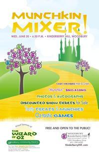 Woodbury Community Theatre Hosts MUNCHKIN MIXER, 6/20