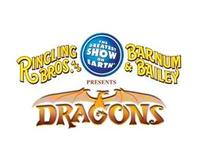 Ringling Bros. and Barnum & Bailey Present DRAGONS, Beg. Tonight, 8/8