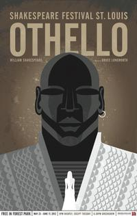 Shakespeare-Festival-St-Louis-Set-for-OTHELLO-525-617--Billy-Eugene-Jones-and-Justin-Blanchard-Star-20120503