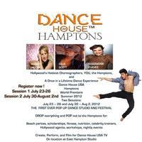 Dance House Hamptons To Present First POP-UP Dance Studio, 7/30 - 8/2