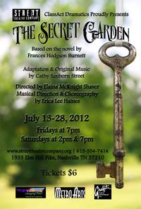 Cathy Street Pens New Musical Adaptation of THE SECRET GARDEN for Summer Youth Theatre Production