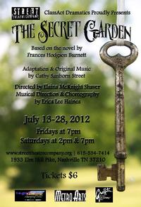 Street Theatre Company Presents THE SECRET GARDEN, Opening Tonight, 7/13