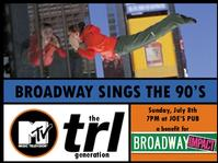 Steffanie Leigh, Morgan James, et al. Perform in TRL Generation: Broadway Sings The 90's, 7/8