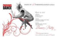 Parsons Dance Announces 2012 Annual Spring GALA, Paint It Red
