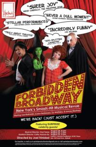 FORBIDDEN BROADWAY Returns for a Two-Day Run, 8/24-25