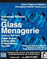 Actors Theatre of Alabama Presents THE GLASS MENAGERIE, 7/12-8/5
