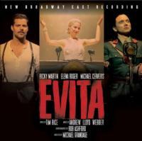 New Broadway Cast Recording of EVITA Debuts at #1