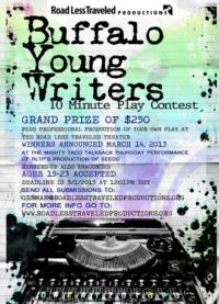 RLTP Now Accepting Submissions for Buffalo Young Writers Contest