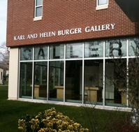 W. Carl Burger Exhibition Opens at Kean University's Gallery, 4/24