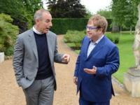 Matt Lauer Interviews Elton John on TODAY, 7/17-18