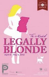Pollard Theatre Opens LEGALLY BLONDE, 4/6