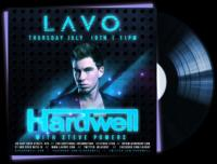 LAVO New York Welcomes Hardwell, 7/19