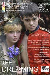 BWW Reviews: THE DREAMING at International Youth Arts Festival, Rose Theatre Kingston, July 17 2012