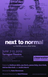 Clearwater Theatre Company Presents NEXT TO NORMAL, Now thru June 17