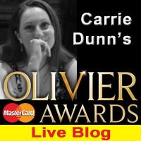 OLIVIERS 2012: Live Blog As It Happened - Big Wins For MATILDA!