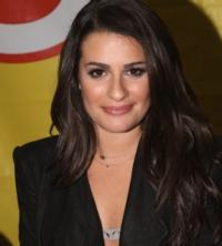 GLEE's Lea Michele 'Lends a Hand' to Habitat for Humanity