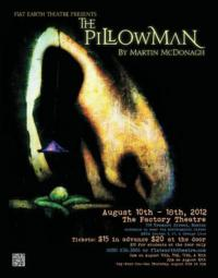 The Factory Theatre Presents THE PILLOWMAN, 8/10-18