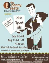 Rev. Drexel Morton Featured in Penny Seats' SHE LOVES ME, Now thru 8/11