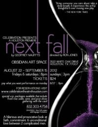 Celebration Theatre Presents Houston Premiere of NEXT FALL, 8/22