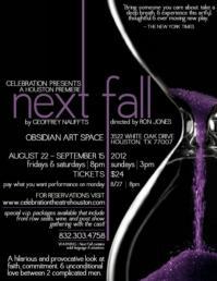 Celebration Theatre Presents Houston Premiere of NEXT FALL, 8/22