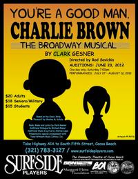 Surfside Players Holds Open Auditions for YOU'RE A GOOD MAN, CHARLIE BROWN, 6/23