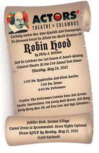 Actors' Theatre Hosts Tent Dinner Before Premiere of ROBIN HOOD Tonight, 5/24
