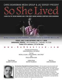 Oscar-Nominated-Emmy-Award-Winning-Composer-Chris-Boardman-Debuts-New-Play-SO-SHE-LIVED-At-Darkhorse-Theatre-20010101