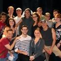 Photo Flash: TMZ's Peter O Riordan Visits SILENCE! The Musical