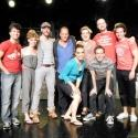Photo Flash: Woody Harrelson Visits TRIASSIC PARQ The Musical