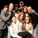 Photo Flash: PAN AM's Erin Cummings Visits SILENCE! THE MUSICAL