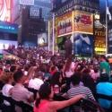 Photo Coverage: On the Scene with Tony Fans in Times Square!
