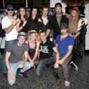 FREEZE FRAME: Broadway Cast Cheers Hollywood's ROCK OF AGES Film